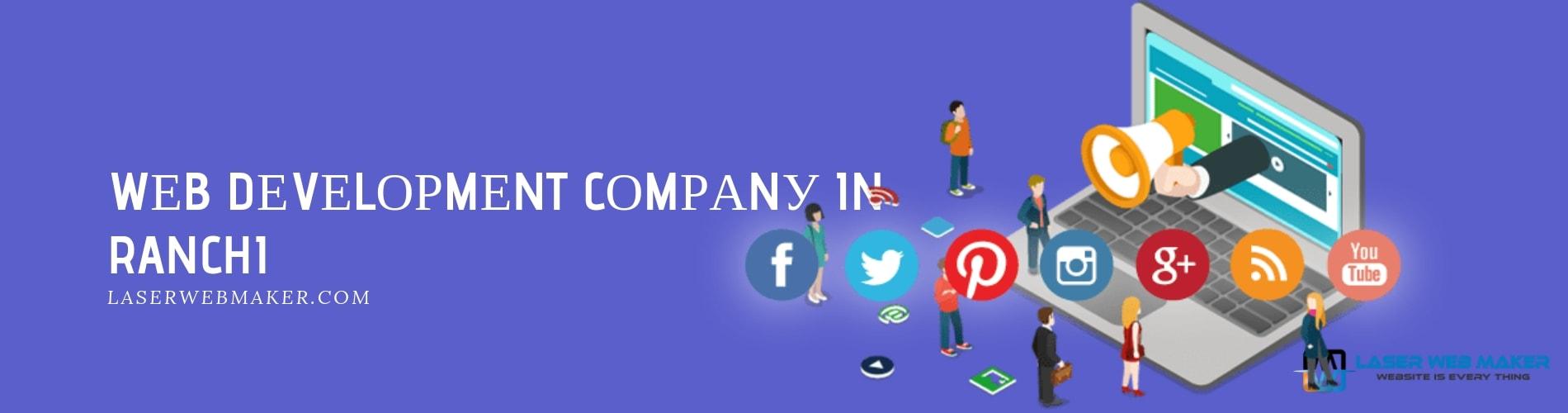 web development company in ranchi
