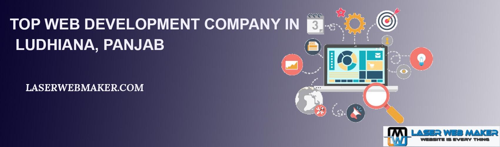 Top web development company in Ludhiana